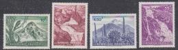 Rwanda 1966 Volcanoes  / Waterfalls 4v ** Mnh (41055) - Rwanda