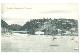Vintage Tasmania, Launceston, Trevallyn Pc Unused - Lauceston