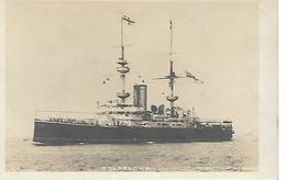 Real Photo Postcard, First World War Period, Battle Ship, Hms Renown. - Warships