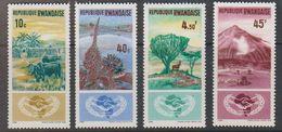 Rwanda 1965 Coopération Internationale 4v ** Mnh (41055B) - 1962-69: Ongebruikt