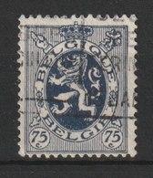 MiNr. 279  Belgien / 1930, 9. April. Freimarken: Wappenschild. Bdr. (2020, Unterteilt In 4 Gruppen Zu 1010); Gez. K 13:1 - 1929-1937 Heraldischer Löwe