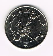 &-  BELGIE VAN 1 FRANK NAAR EURO - Jetons De Communes