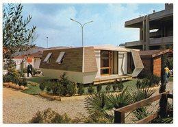 Lot De 2 Cartes Publicitaires - PAVISOL à PITHIVIERS LE VIEIL - Poëles à Bois , Pavillons Design Années 1970 - Publicité