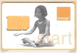 PHONECARD SIM GSM (GUADELOUPE) - ORANGE 'START' / 01 - Origine Inconnue