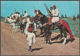 Cavaliers Zlass, Kairouan, 1968 - Kahia CPM - Tunisia