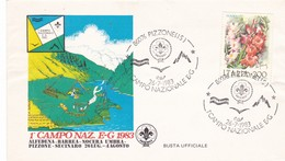 PIZZONE (IS) 1° CAMPO NAZIONALE E-G 1983 - 6. 1946-.. Repubblica
