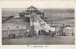 BLANKENBERGE / DE PIER  / TOERISTENTREINTJE  1948 - Blankenberge