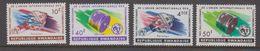 Rwanda 1965 UIT / Space 4v ** Mnh (41055D) - Rwanda