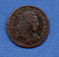 Lorraine  -  Liard 1706 --  état  TB - 476-1789 Monnaies Seigneuriales