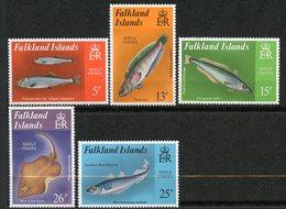 Falkland, Yvert 334/338, Scott 334/338, MNH - Falklandeilanden