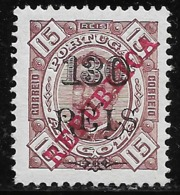 Angola - 1915 King Carlos Overprint REPUBLICA - Angola