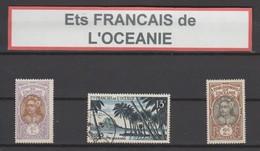Ets Français De L'Océanie : Joli Lot De Timbres - Oceanië (1892-1958)