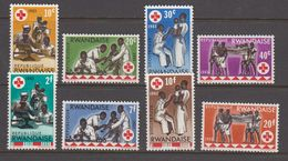 Rwanda 1963 Croix Rouge / Rode Kruis 8w ** Mnh (41055J) - 1962-69: Ongebruikt