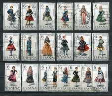 """Spanien / Int. Lot Mit Versch. Werten Ex Ausgabe """"Trachten"""" (25221) - Briefmarken"""