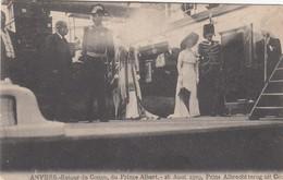 BELGIE / BELGIQUE / ALBERT I  TERUG UIT BELGISCH KONGO / ALBERT I RETOUR DU CONGO BELGE  1909 - Koninklijke Families