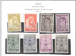 Syria PA 1961/63 Palmyra Bellezze    Scott.C 255/262 New See Scan On Scott.Page; - Siria