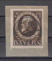 Bayern MiNo. 109IIA Briefstück O Ludwigshafen 11.NOV.19 (100.-) - Bavaria