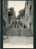 CPA - QUIMPERLE - La Rue Des Chambriers, Très Animé - Quimperlé