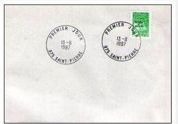 FDC Saint Pierre Et Miquelon Marianne Du 14 Juillet Bdf ( Luquet ) 2,70F 13-08-1997 - FDC