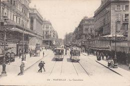 Cp , 13 , MARSEILLE , La Cannebière - The Canebière, City Centre