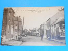 59 ) Ferrière-la-grande - N° 6 - Les Quatre-bras  -  Année 1925 - EDIT -  Debrock / Pollet - Other Municipalities