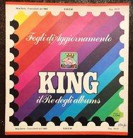 SMOM Fogli Marini King 1981 - Sovrano Militare Ordine Di Malta