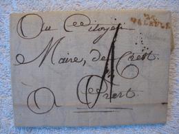 Pré Philatélie – Révolution Française – Drôme - 1789 - Collector - Francia