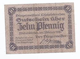 Wiebelskirchen Saar - Lo Pfennig 1920    AK 11.734 - [ 8] Saarland