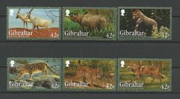 Gibraltar 2012 Endangered Animals Y.T. 1513/1518 (0) - Gibraltar