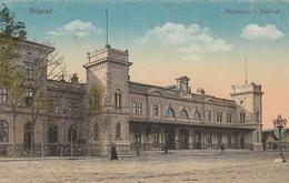 Beograd - Palyaudvar Bahnhof Railway Station 1918 - Serbie