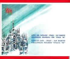 Nuovo - ITALIA - Folder - 1998 - Italia 98 - Emissione Congiunta Italia, San Marino, Città Del Vaticano - 6. 1946-.. Repubblica