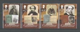 Gibraltar 2012 Charles Dickens Bicentenary Y.T. 1491/1494 (0) - Gibraltar