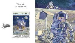Sierra  Leone  2018  Alan Bean  NASA Astronaut  Space   S201809 - Sierra Leone (1961-...)