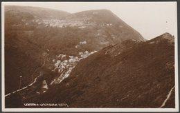Lynton & Lynmouth, Devon, C.1930 - Chapman & Son RP Postcard - Lynmouth & Lynton