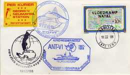 Antarctic / Antarctiques.RSA - CAPE TOWN 1988,Swedish Expedition,Germany Expedition,Georg Von Neumayer Station - Stamps
