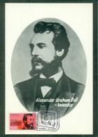 CM-Carte Maximum Card #1976-Portugal # Telecommunation # Telecom # Telephone,telefone  # Alexander Graham Bell - Cartes-maximum (CM)