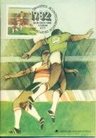 CM-Carte Maximum Card #1982-Portugal # Sport # World Championship,  Futebol,Football,Fußball,soccer - Cartes-maximum (CM)