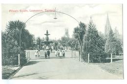 Vintage Tasmania, Launceston Prince's Square Pc Unused - Lauceston