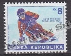 Czech Republic - Tcheque 1998 Yvert 166 Ski Bob World Championship, Spindleruv -  MNH - República Checa