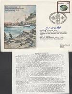 3333  Carta  Flow Flight , Vuelo, Napier 1981, Firmado Por El Capitan  J. C.Westall, R.M. - Covers & Documents