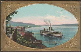SS Hendrick Hudson At Hudson, New York, 1910 - Embossed Postcard - NY - New York