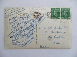 (Rugby à XIII - 1951) - Carte De Elie BROUSSE, Avec Signatures Des Joueurs De La Grande équipe....voir Scans Et Détails. - Rugby