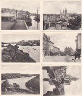 AM86 Folder With 12 Photographs Of Truro - Places