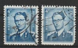 MiNr.975 Belgien / 1953, 10. Sept./1966. Freimarken: König Baudouin,  Marchand. RaTdr., Bogen (B) (105, MiNr. 973 Y 106) - Belgien
