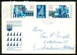 DDR 1972 Ersttagsbrief Messe Der Meister Von Morgen Mi Dreierstreifen 1799-1800 - FDC: Enveloppes