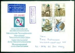DDR FDC 1990 125 Jahre UIT - FDC: Covers