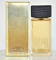Donna Karan Gold Sparkling Eau De Toilette Edt 100ML 3.4 Fl. Oz. Spray Perfume For Woman Rare Vintage Old 2008 New - Fragrances (new And Unused)