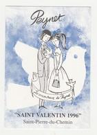 Peynet.Saint Valentin 1996.Saint-Pierre-du-Chemin. - Peynet