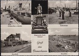 D-27576 Bremerhaven - Alte Ansichten - Hafen - Fischereihafen - Bremerhaven