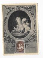 Carte Maximum 1943 Musée Postal - Cartas Máxima